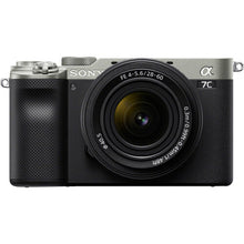 Load image into Gallery viewer, Sony Alpha a7C Mirrorless Digital Camera with 28-60mm Lens (Silver)