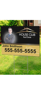 Real Estate Yard Signs