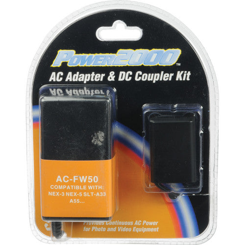 Power2000 AC-FW50 AC Adapter and DC Coupler Kit