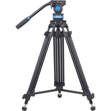Load image into Gallery viewer, Sirui SH15 Aluminum Video Tripod with Fluid Head