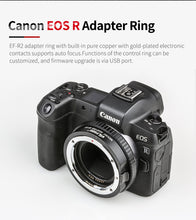 Load image into Gallery viewer, EF-R2 Lens Adapter Ring