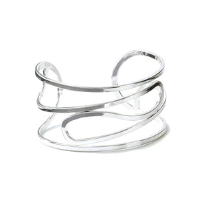 POM Curved Open Wire Bangle JWR