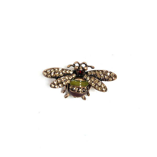 One Button Bee Brooch - JEWELLERY