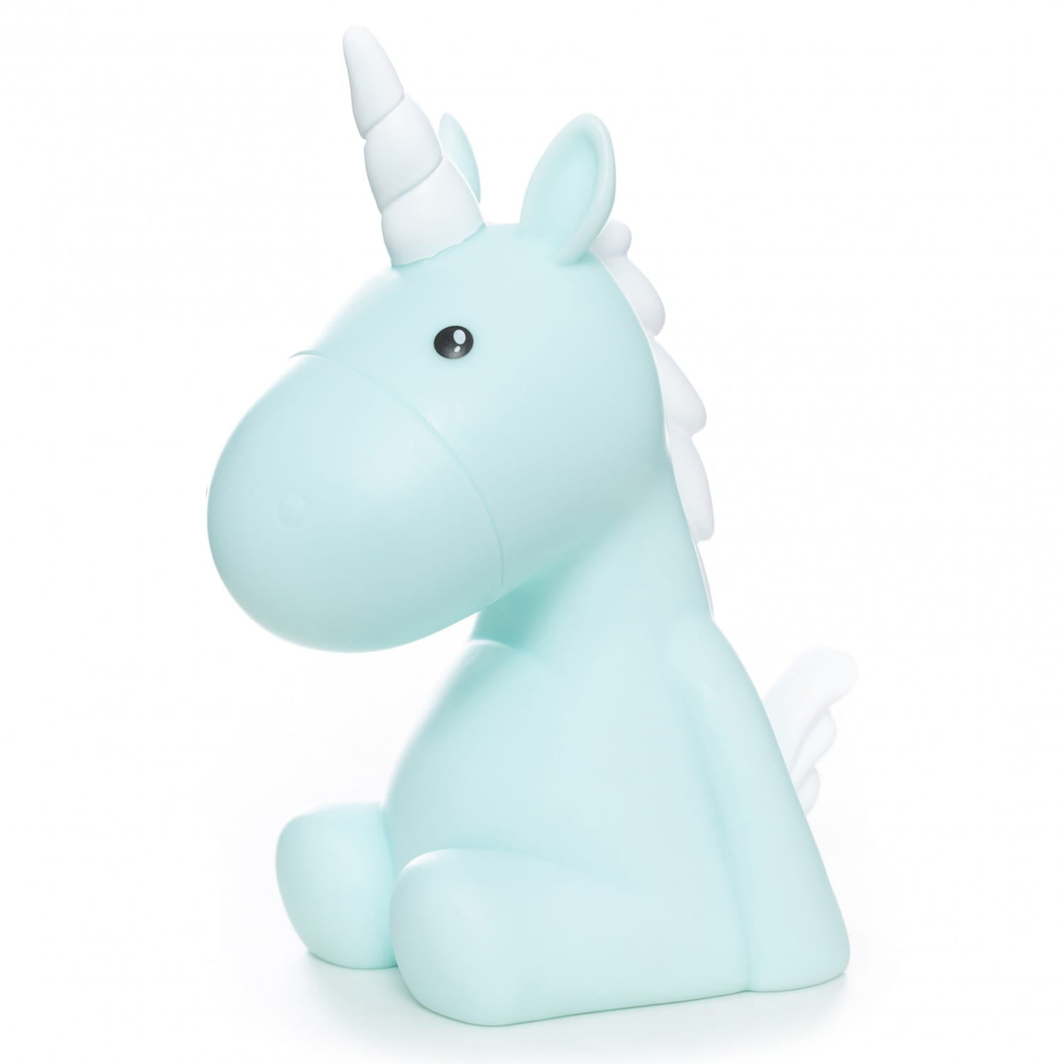 Oli Olsen Kids Blue Unicorn LED changing night light