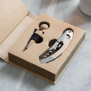 Garden Trading Bottle Opener & Stopper Set