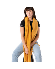 Load image into Gallery viewer, Miss Sparrow Chunky Plain Knit Scarf - ACCESSORIES
