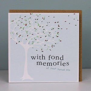 With Fond Memories Tree