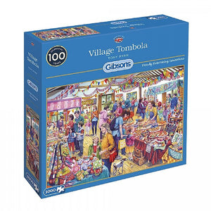 Village Tombola 1000 piece puzzle