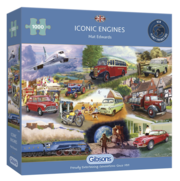 Iconic Engines 1000 piece jigsaw