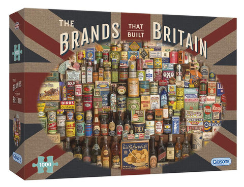 The Brands that Built Britain 1000 piece jigsaw