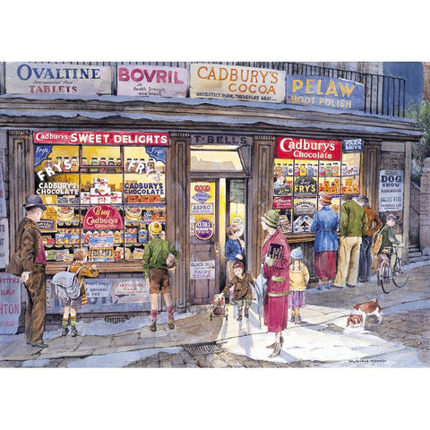The corner shop 500 piece jigsaw