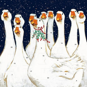 Goosey Gander Square Advent Calendar - XMAS