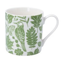 Gisela Graham Bone China Garden Study Mug