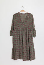 Load image into Gallery viewer, Paris Fashion Patterned Smock Tunic - Clothing