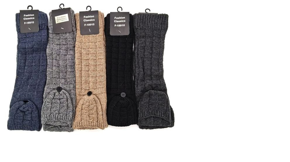 Knitted Arm Warmers - Various Colours