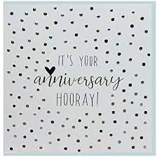 It's Your Anniversary HOORAY!