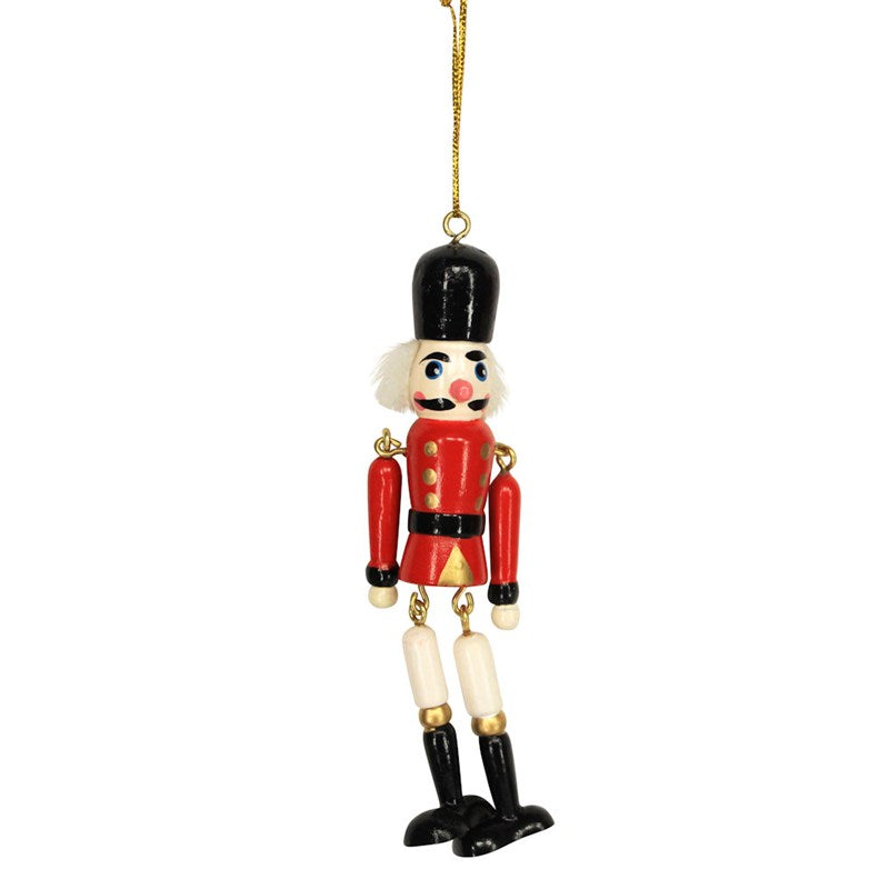 Hanging Nutcracker Decoration