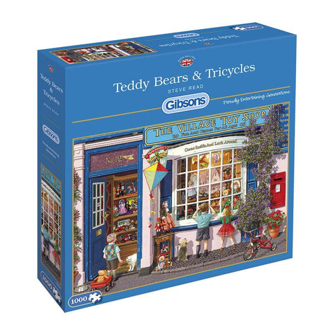 Teddy Bears & Tricycles 1000 Piece Jigsaw