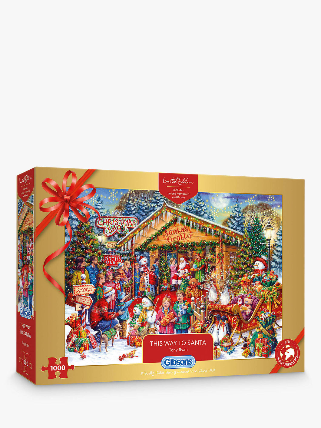 The Way to Santa 1000 piece jigsaw