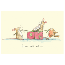 Load image into Gallery viewer, Two Bad Mice Christmas Cards
