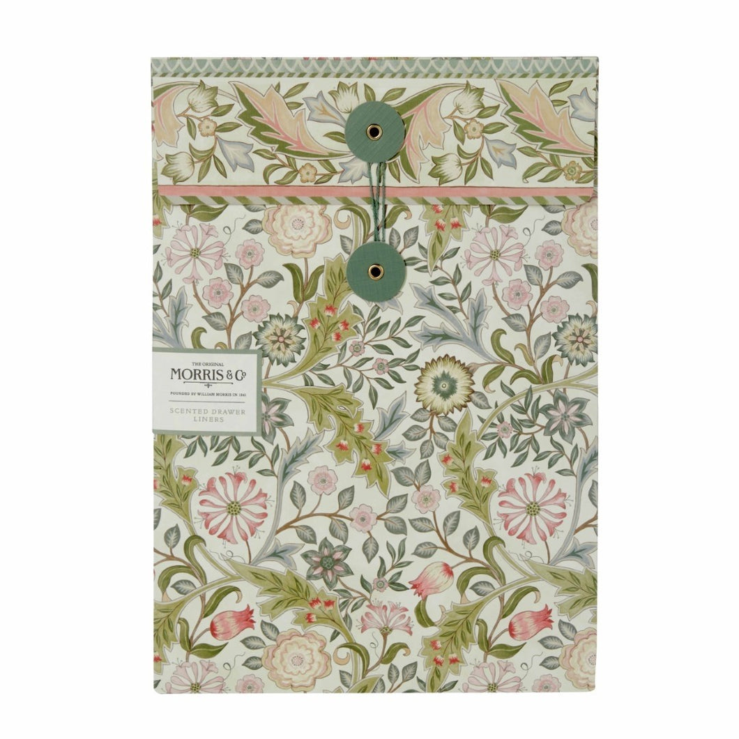 Morris & Co. Jasmine & Green Tea Scented Drawer Liners - TLT