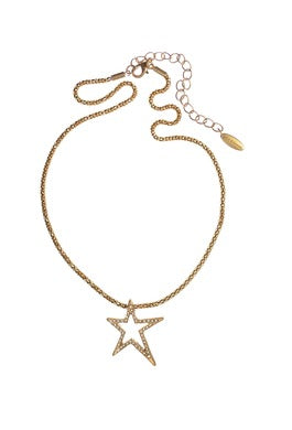 Shooting Star on Rolls Chain - JEWELLERY