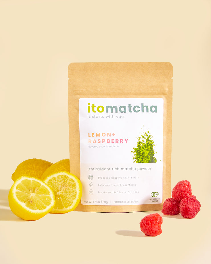itomatcha lemon + raspberry (Special Offer)