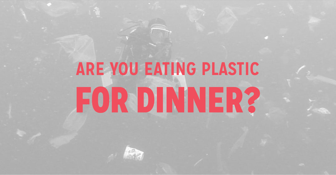Are you eating plastic for dinner?