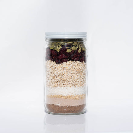 Dessert In A Jar: Trailblazer Cookies