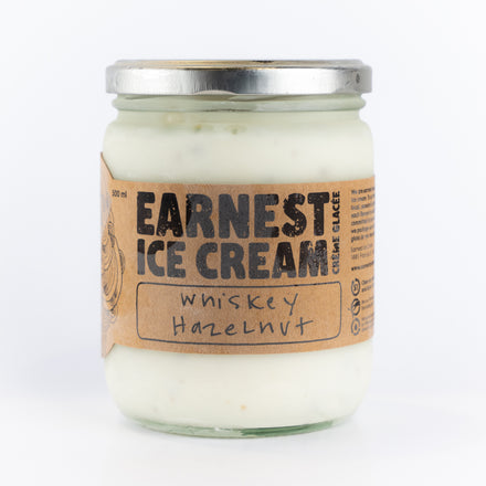 Whiskey Hazelnut Ice Cream