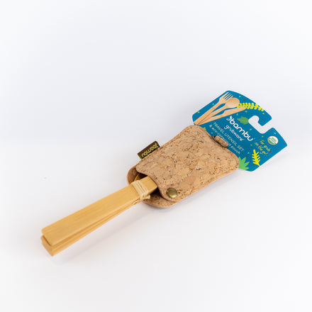 Travel Utensil Set/Cork Fabric