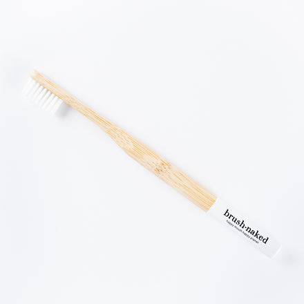 Adult Toothbrush, White