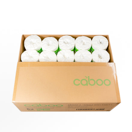 Bamboo Toilet Paper, Case