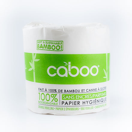 Bamboo toilet paper, single COST: 1.125