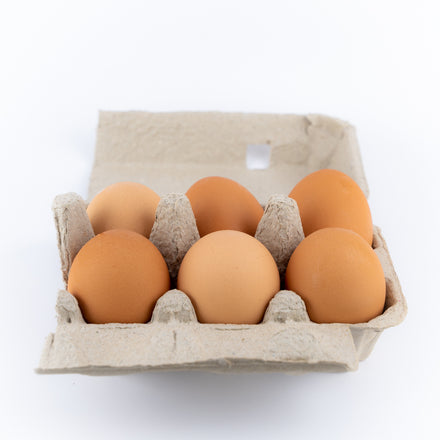 Half Dozen Medium Eggs