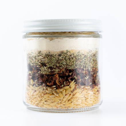Soup In A Jar: Orzo & Italian Seasoning