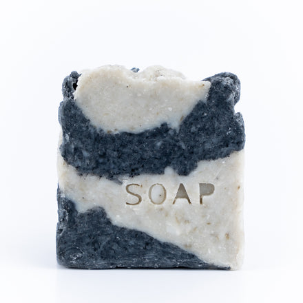 3-in-1 Soap, Moisture Rich Charcoal Facial Cleansing Bar