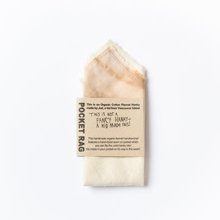 Pocket Rag, Almond