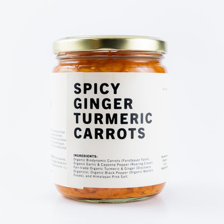 Spicy Ginger Carrots