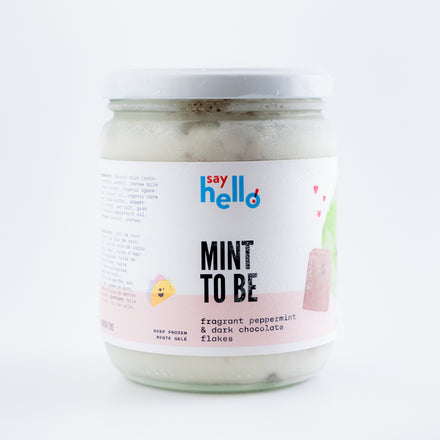 Mint To Be Vegan Ice Cream