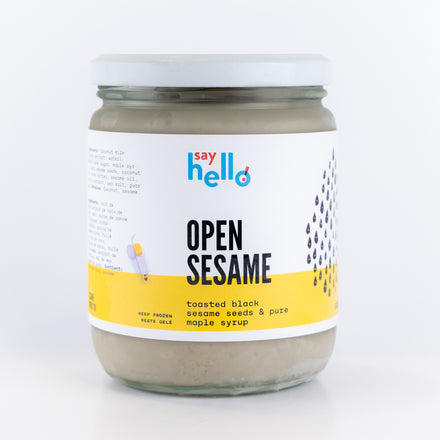 Open Sesame Vegan Ice Cream