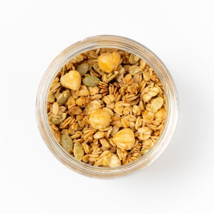 Lemon Hazelnut Granola