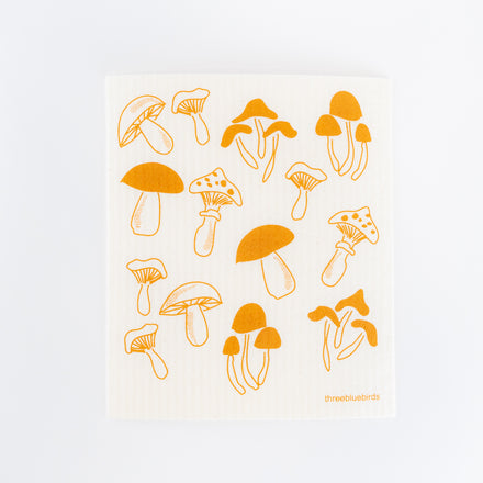 Fungi Swedish Dishcloth