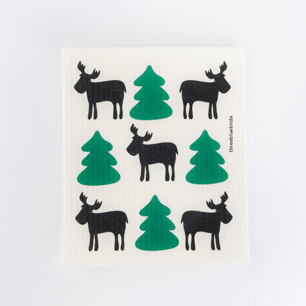 Swedish Dishcloth, Moose