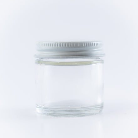 Straight-Sided Glass Jar, 1 oz