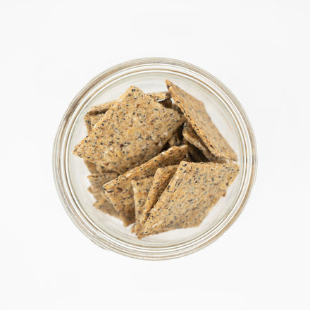 Sourdough Sea Salt Crackers
