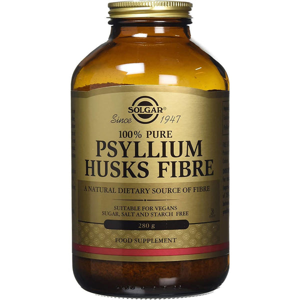 Solgar Psyllium Husks Fibre, Powder, 280gr, Food Supplement