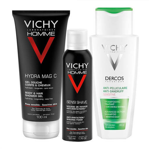 Vichy Homme Anti-irritant, Gel