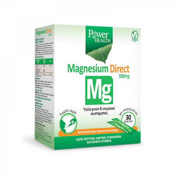 Power Helath Magnesium Direct 350mg, Sachets, 30