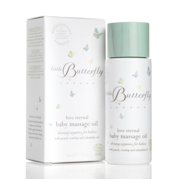 Little Butterfly love eternal baby massage oil 50ml